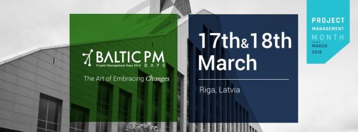 Ceturto reizi notiks Baltijas Projektu vadīšanas dienas